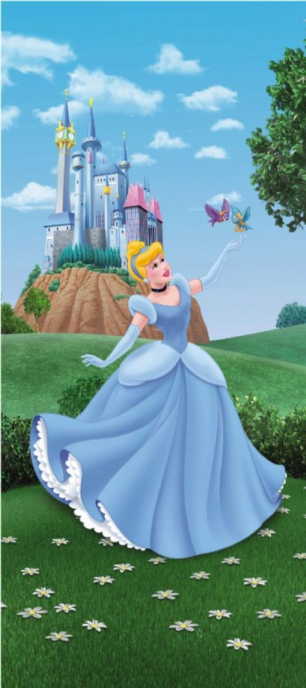 Disney Princess Cinderella mural wallpaper 90x202cm